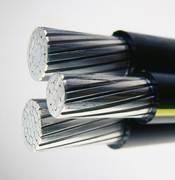aluminum wire aluminum wire is a type of wiring used in houses power grids and airplanes aluminum provides a much better conductivity to weight ratio than copper